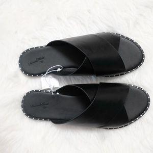 1e8e912e35b5 Universal Thread Shoes - Universal Thread Kyleigh Cross Band Slide Sandals